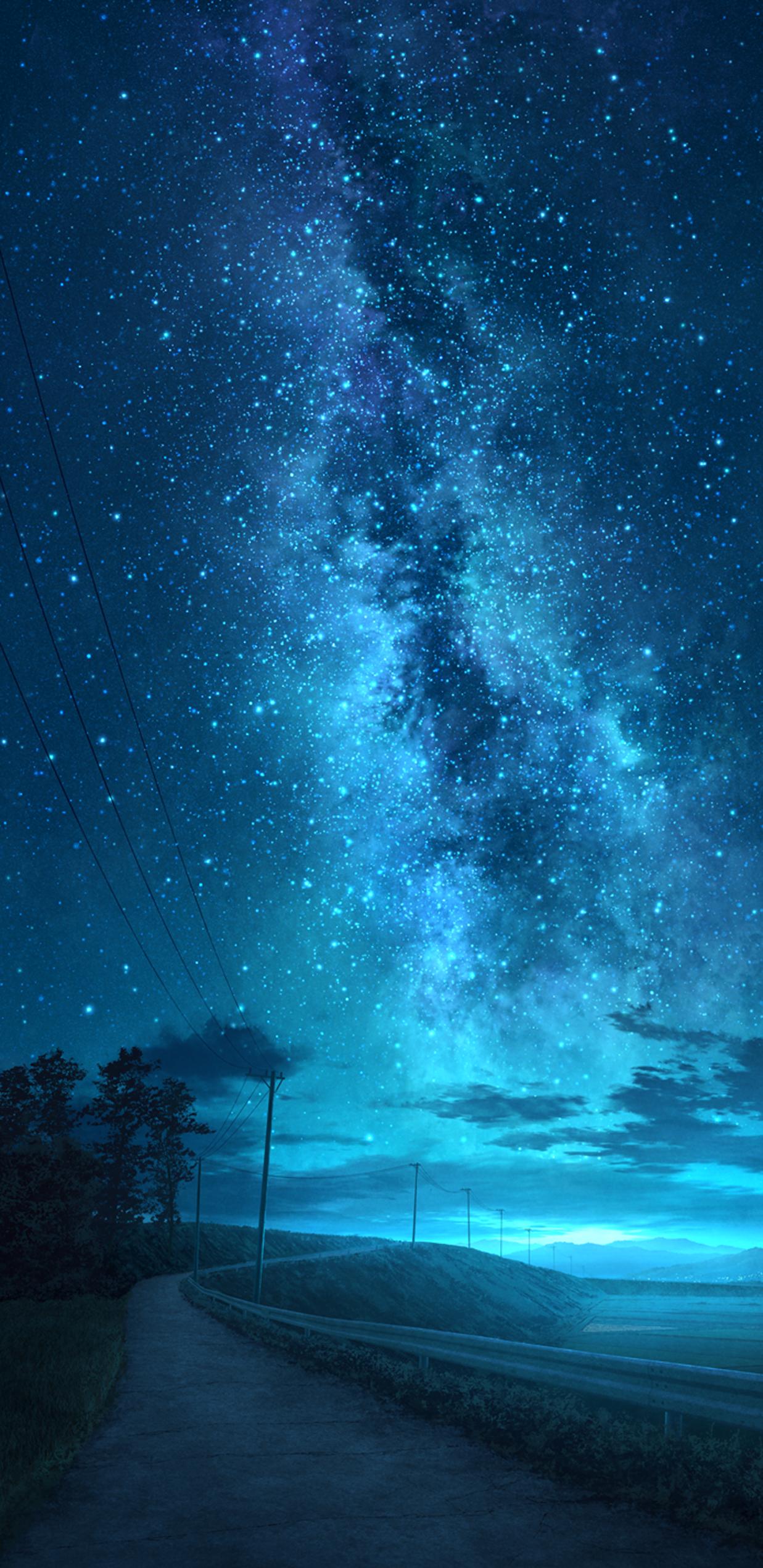 Phong cảnh bầu trời sao đẹp tuyệt vời