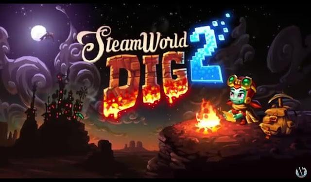 Image & Form Games announced release date of SteamWorld Dig 2 for PS4 and PS Vita