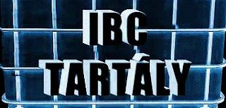 műanyag IBC tartály