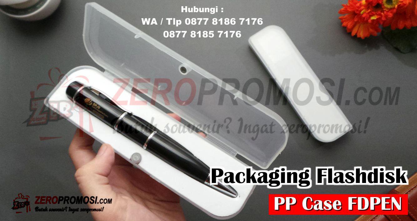 Box Packaging Panjang Flashdisk Pulpen - PP CASE PEN, PP CASE FLASHDISK PULPEN, Box Packaging Flashdisk Pen Cetak Logo, Kotak/Box Plastik USB Pen (PP Case Pen)