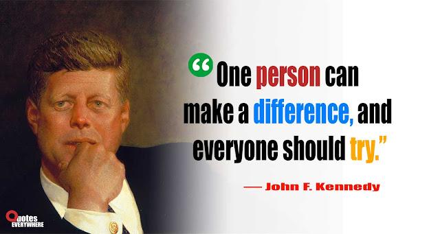 John F. Kennedy Quotes moon