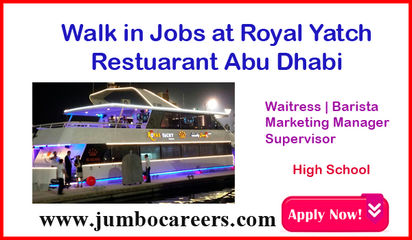 Latest restaurant jobs in Abu Dhabi, Urgent vacancies in UAE,