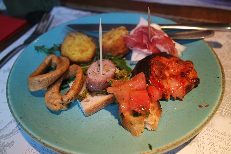 Authentic Italian Cicchetti Snacks