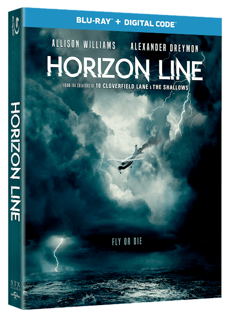 [Blu-ray Review] - HORIZON LINE (2020) - A Thriller With No Direction