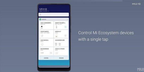 MIUI 10 Mi Ecosystem App