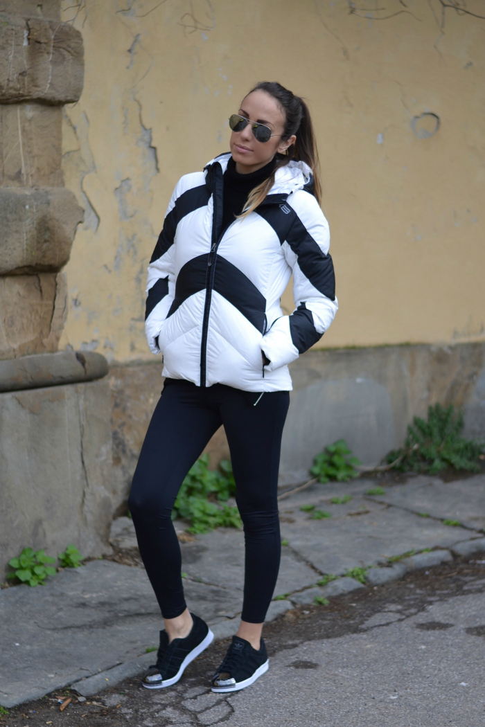 look con adidas superstar