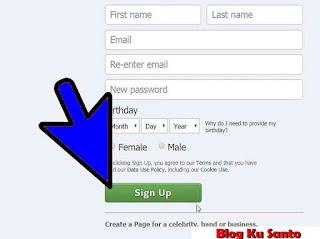 Mendaftar Akun Facebook