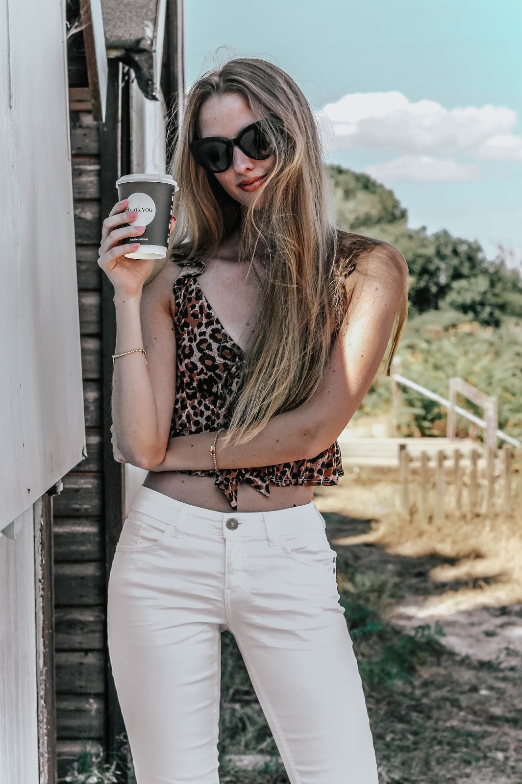 Miss Selfridge Petite Leopard Print Crop Top Camisole