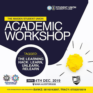 Unilorin S.U Academic Workshop Tagged The Learning Hack: Learn, Unlearn, Relearn