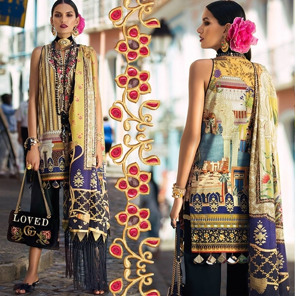 Elan Designer Lawn Collection 2018