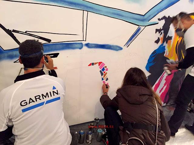 graffitis Garmin