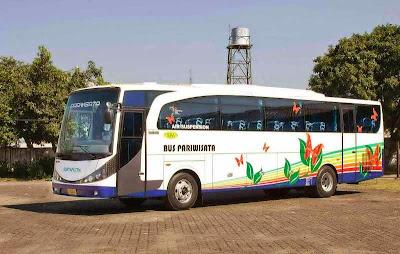 Rental/sewa bus pariwisata bandung murah 081220860758.Unit/armada terbaru fasilitas toilet untuk kenyamanan Anda dan keluarga.