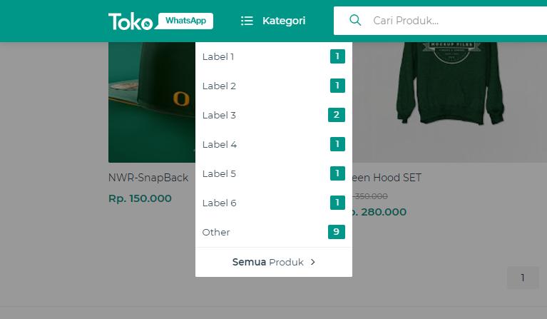template toko whatsapp