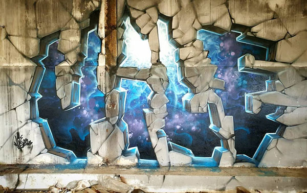 graffiti transparan keren