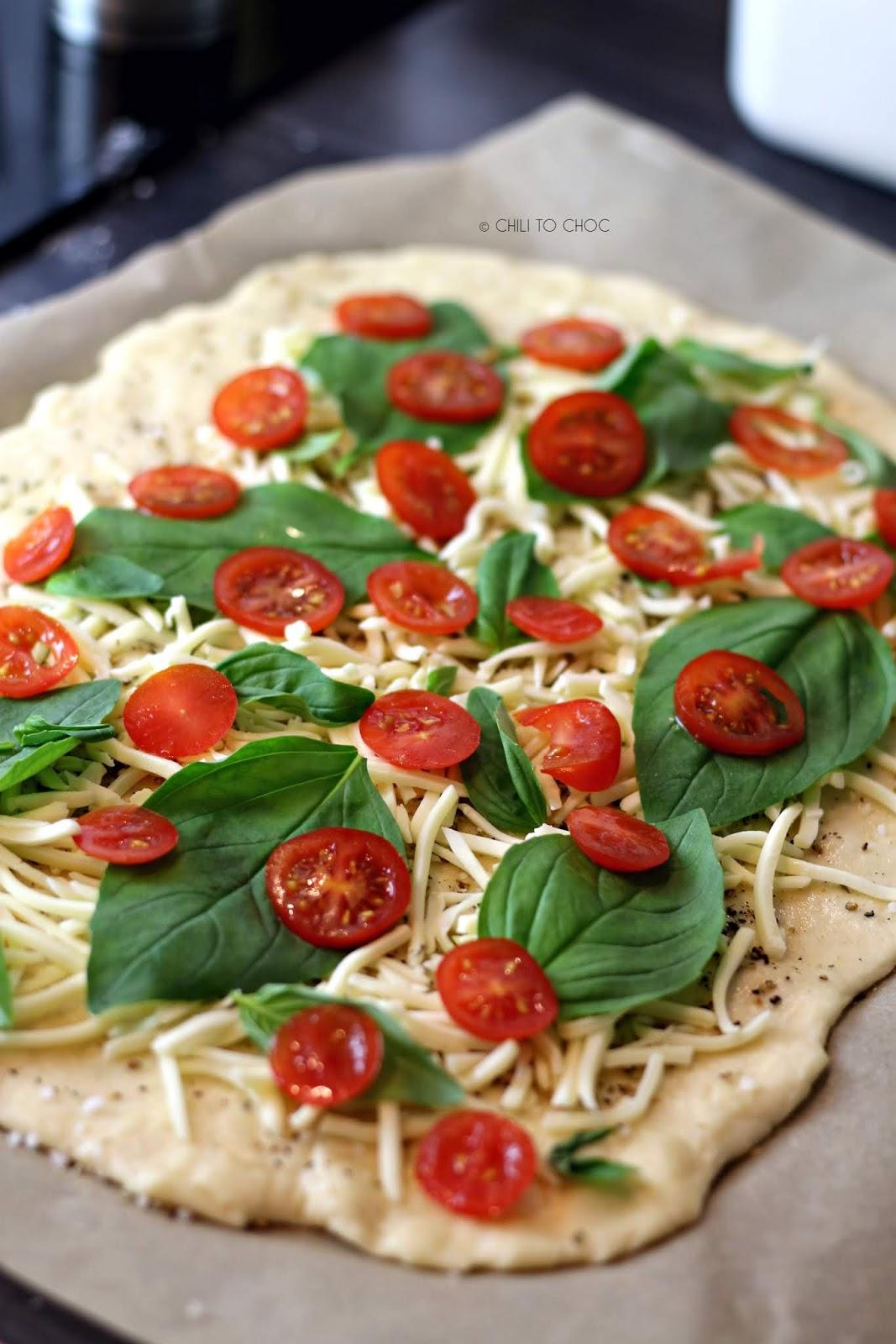 Caprese Pizza Rolls