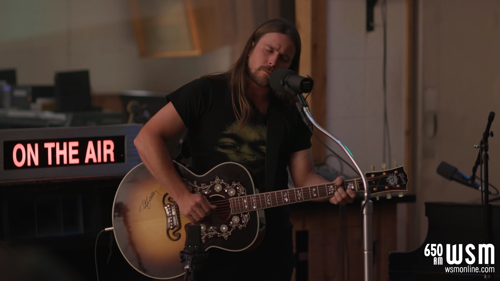 Pro-Shot Video: Lukas Nelson Covers His Father Willie Nelson At Historic RCA Studio B