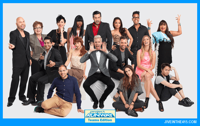 TV Talk - Project Runway Team's Edition Season Eleven Cast
