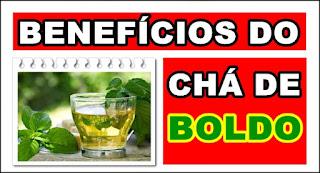 Benefícios do Chá de Boldo para saúde