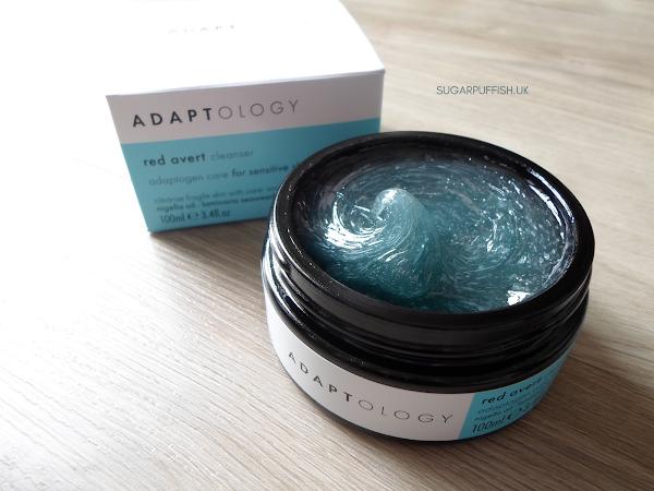 Review Adaptology Red Avert Cleanser for Sensitive Skin