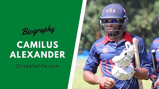 Camilus Alexander cricketer Proflle, age, height, stats, wife, etc.