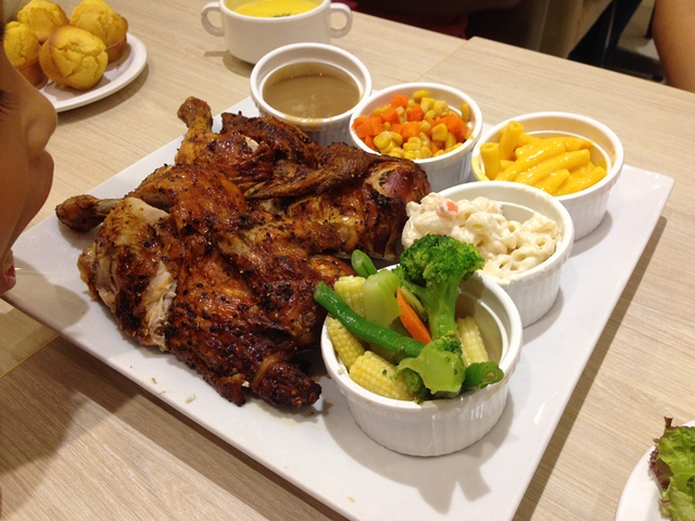 ERICJAZ FOODIES: KENNY ROGERS ROASTERS (MY BIRTHDAY 2016)
