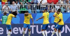 ملخص مباراة البرازيل والمكسيك 2-0 - هدف نيمار العالمي تأهل البرازيل لدور الثمانية -كأس العالم