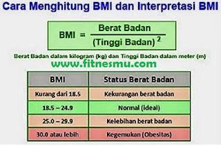Cara Menghitung Berat Badan Ideal Pria dan Wanita Online (kalkulator BMI Online)