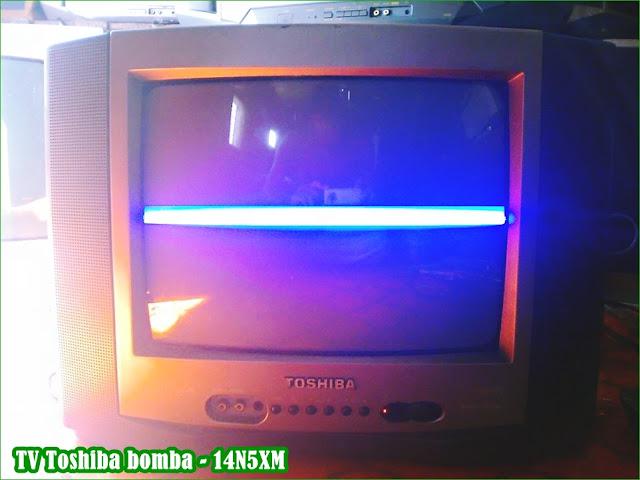 Gambar dan Bentuk Televisi Toshiba BOMBA 14B5XM
