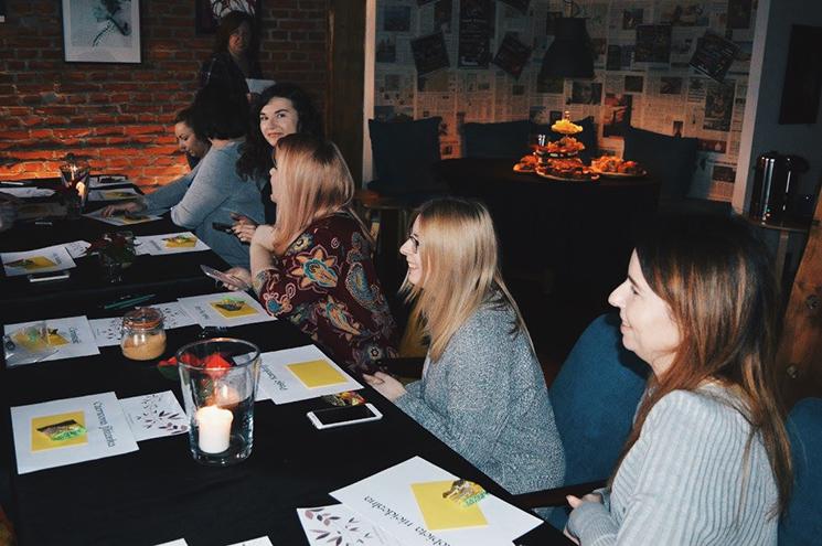 Spotkanie blogerek Maybe Beauty Gdynia listopad 2017