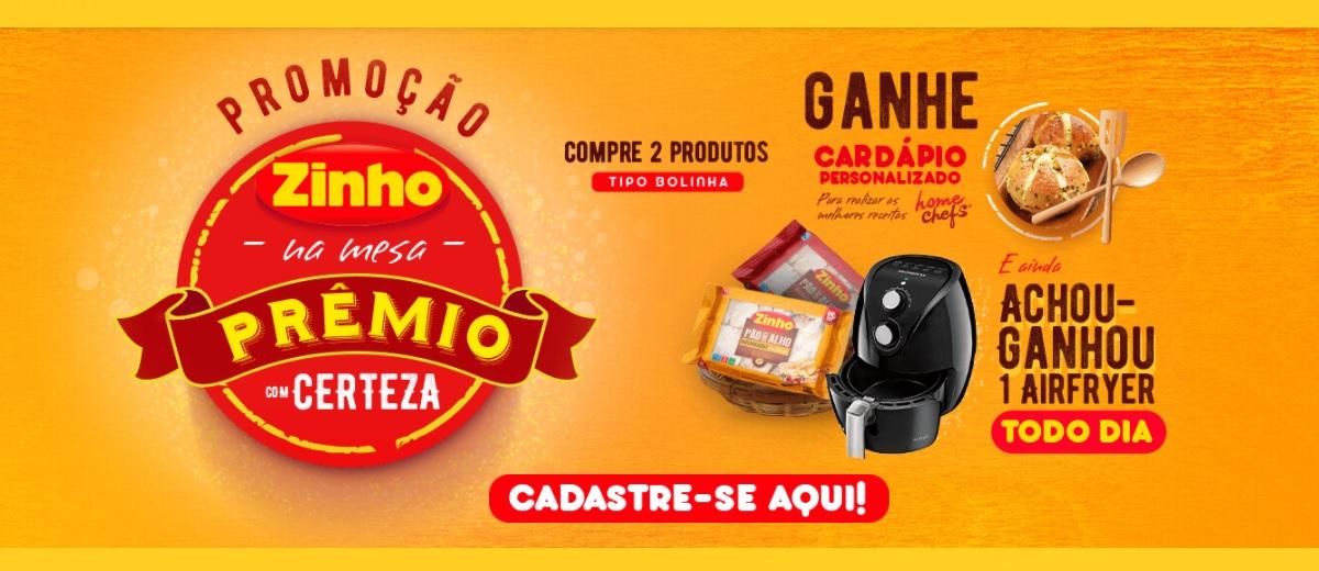 Promoção ZINHO Pães 2021 Airfryer Todo Dia
