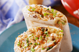 ✓ Old Bay Shrimp Burritos