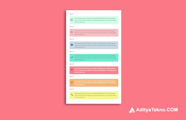 Cara Membuat Kotak Catatan dan Keterangan di Postingan Blog dengan Efek Animasi