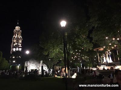 Artisan Nativity in Morelia at Plaza de Armas in Morelia