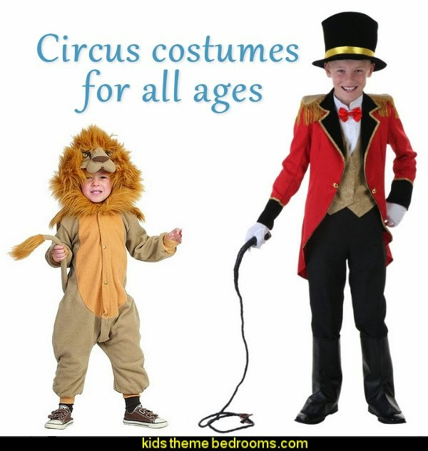Circus costumes for all ages-Lion Costume-Ringmaster Costume