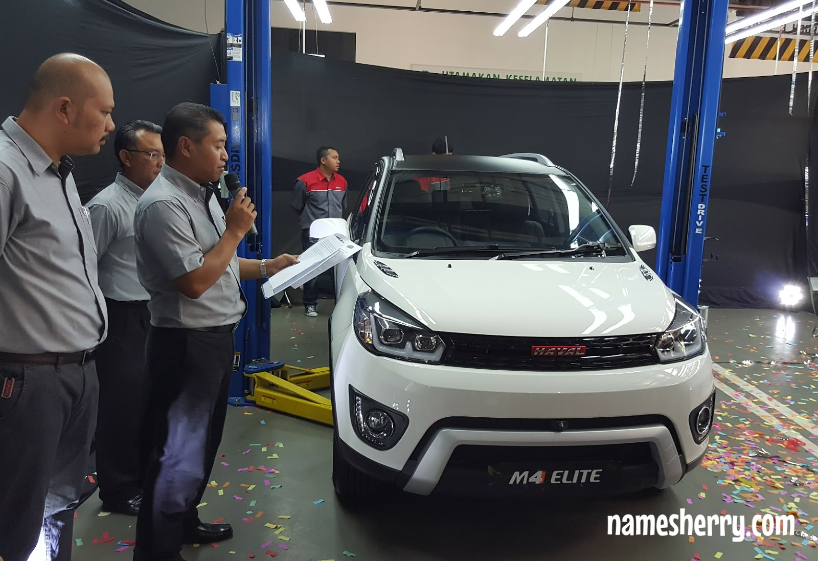 Namesherry Soft Launch Of M4 Elite And Great Wall Motors Gwm