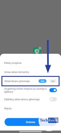 Jak zmienić siatkę ikon?