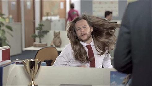 homem, cabelo, shampoo, dove men care