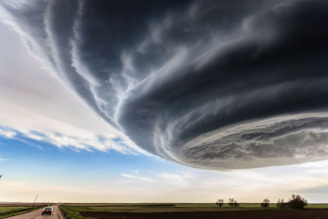 Supercell over Colorado