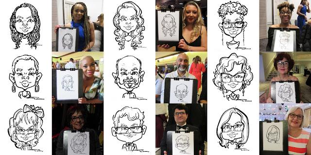 Silu Cartoon - Caricatures form live events 3