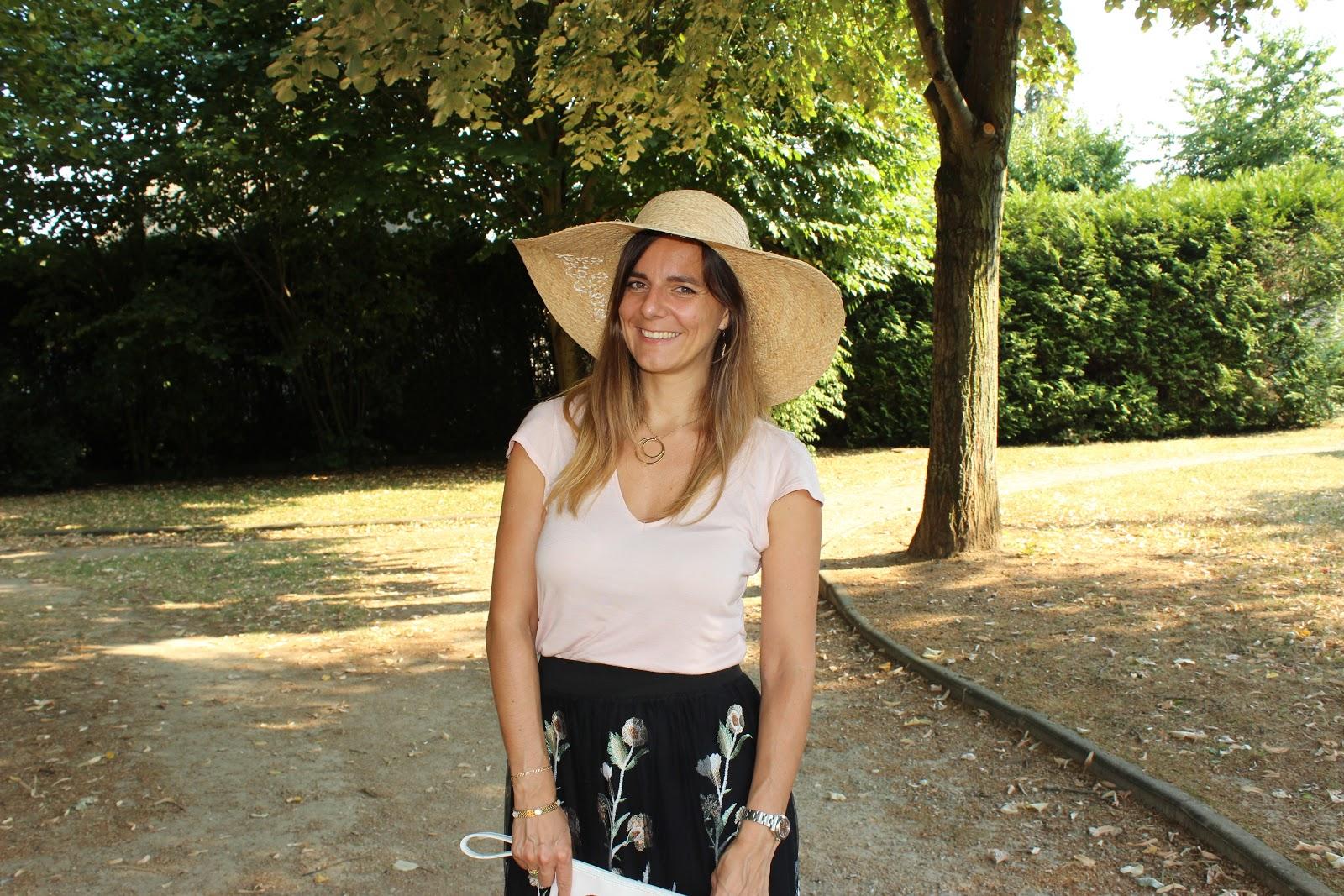 look d'été, jupe maje, les petites bulles de ma vie