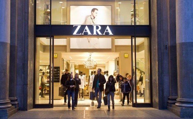 Comprar sapatos na Zara em Barcelona