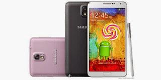 Cara Upgrade Samsung Galaxy Note 2 dan 3 menjadi Android 5 Lollipop