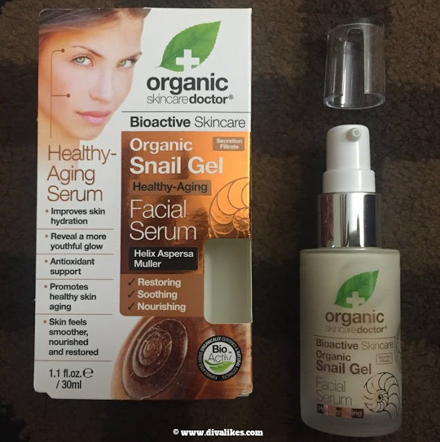 Organic Doctor Snail Gel Facial Serum