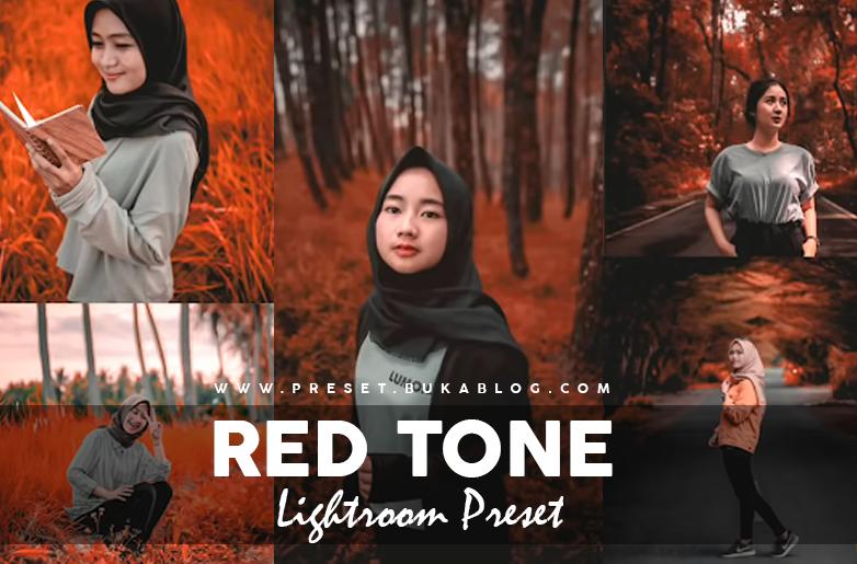 Free RED TONE Lightroom Preset XMP + DNG