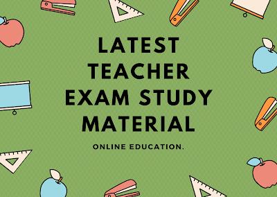 Teacher Exam Prepare Questions Answer 2020, Teacher Exam Syllabus