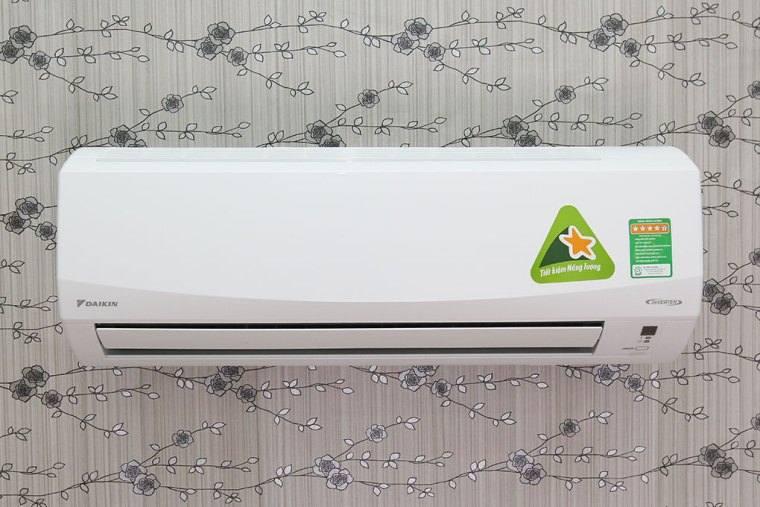 Thiết kế khá tinh tế của máy lạnh Daikin thích hợp với nhiều không gian nhà ở