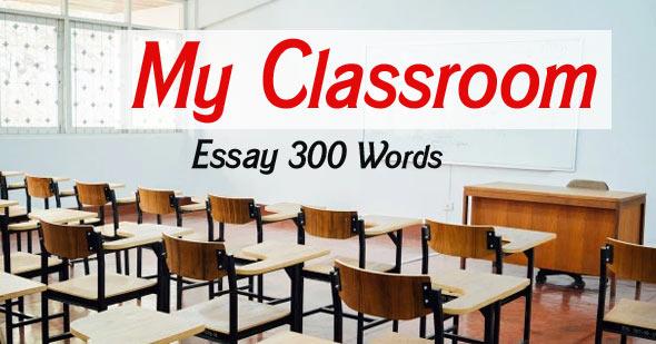 My Classroom Essay