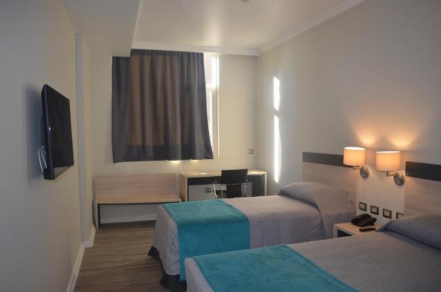 Quarto do Hotel Diego de Almagro Calama Express