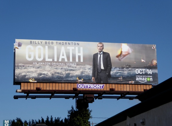 Goliath season1 billboard