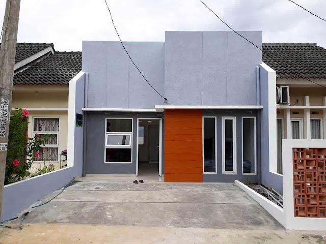 Rumah Contoh Perumahan Alam Hijau Parung